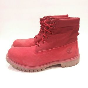 Timberland Men's 11 red hiking boot